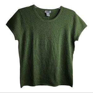 NEW! Premise Cashmere Short Sleeve Sweater